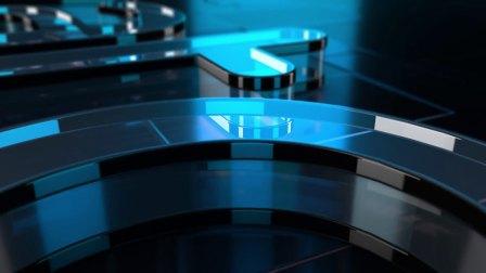 AE模板E3D插件制作三维玻璃质感公司Logo片头动画-21173701 Cool Glass Logo