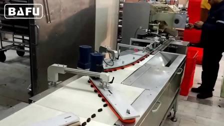 自动理料巧克力包装机,巧克力双扭包装机,双扭结包装机