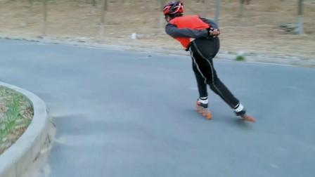 南海子公园速度轮滑