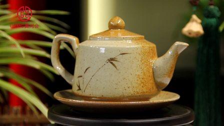 CYRC黄河会 手工复古粗陶竹韵套组茶具