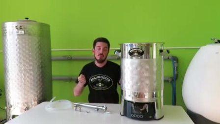 Speidel-BR麦汁泵出管路安装示范(含龙头+4只酒花隔挡)