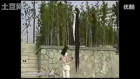 江西长发女夏爱凤长发展示2_标清