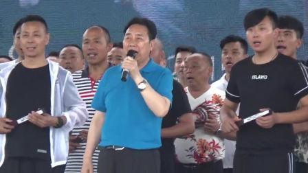 豫剧《三哭殿》选段,艺术家李树建携弟子合唱,东区文化艺术中心广场