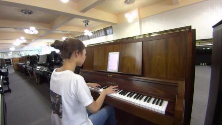 YAMAHA雅马哈钢琴W101B玫瑰木纹色编号:3227732