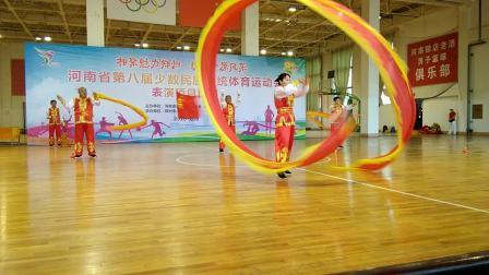 河南第八届民族体育运动会信阳代表队展演