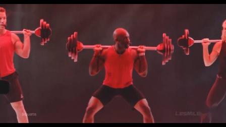 【去健身】运动健身训练 杠铃操 有氧团体课 2018 We are Limitless 最新健身操