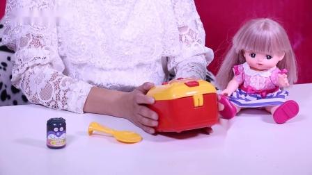 樱桃玩具秀: 面包超人电饭煲玩具分享