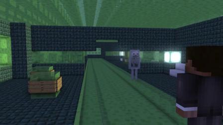 我的世界动画-巴迪的史莱姆方块挑战-AppleSauceCraft