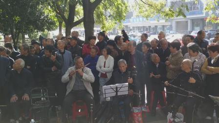 浦江婺剧戏迷演唱《马成坊主》太白路民乐队伴奏