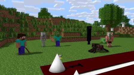 我的世界动画-怪物学院-短跑-PewMieCraft