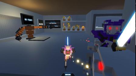 这。。。。。。什么鬼【机器人角斗场】