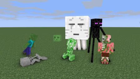 我的世界动画-怪物学院-迷宫挑战-johanzcraft