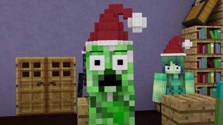我的世界动画-格林奇和圣诞节-Wrangoo