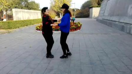 鹤壁淇畔吉特巴水兵舞第二套张杨组合(晨练)