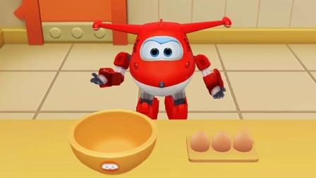 小浩宇亲子游戏 第一季 超级飞侠之乐迪蛋糕店 乐迪为小青做好吃的圣诞蛋糕