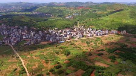 航拍清水村-郴州市嘉禾县塘村镇清水风光