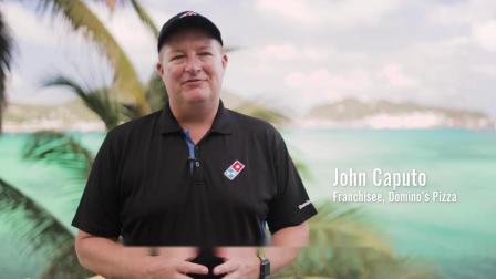 达美乐比萨在圣马丁岛采用三词地址更快地递送比萨