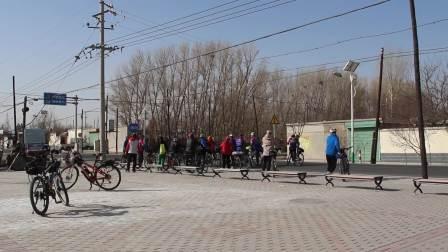 2019.3.23嘉峪关美利达自行车骑乐行酒泉边湾农场