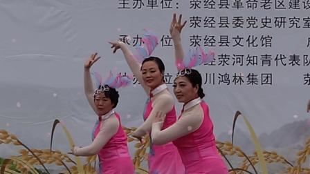 知青50周年文艺演出12 舞蹈《蝶恋花·答李淑一》荥经知青代表队(梓州君摄制)
