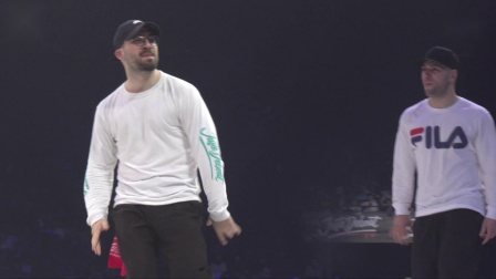 Popping 16强-Juste Debout 2019-Shorty & Boogiesa vs Nury & Young G