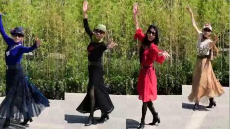 紫竹院杜老师广场舞《雪山阿佳》学跳