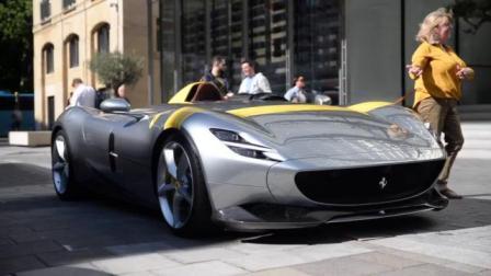 单价170万美元的法拉利Monza SP1和法拉利499 Icona超跑
