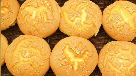 老式传统鸡蛋糕配方教学 蓝麦学员生日蛋糕作品展示