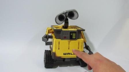 【大帅模玩】机器人瓦力 模型手办