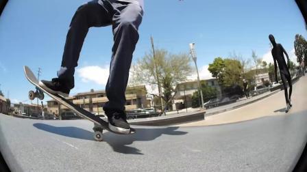 Rolling Up To Stoner Skate Plaza