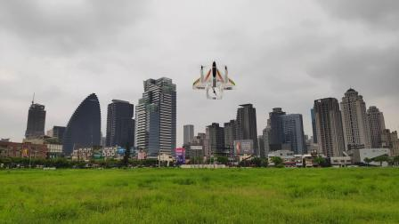 伟力 XK X450 六通无刷多功能 垂直起降 VTOL 特技飞行器 遥控飞机