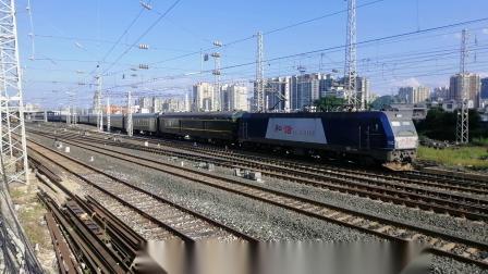 [2019.7.27沪昆线六盘水机务段拍车]成局成段HXD3C 0166牵引K1271次(杭州-成都)