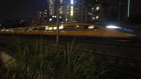 (南宁市园湖北路)DJ1008次列车 昆明南→南宁东(CRH380AJ-0201)