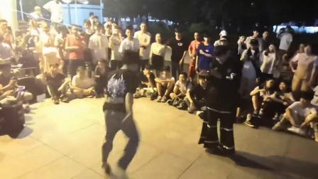 817广东曳步舞聚会