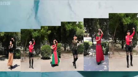 紫竹院广场舞《贝加尔湖畔》学跳独舞展示