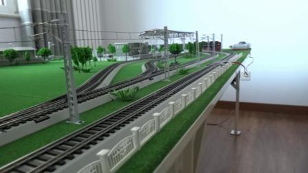 前进蒸汽机车牵引3节S12守车在外环铁路运行
