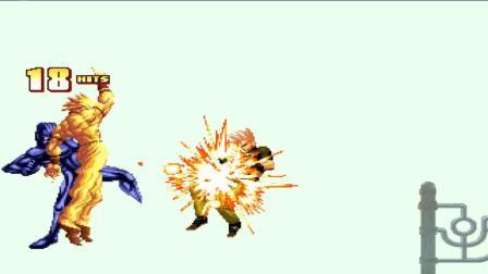 木子小驴解说《拳皇mugen木星篇》恶魔战士双人组队模式一币通关