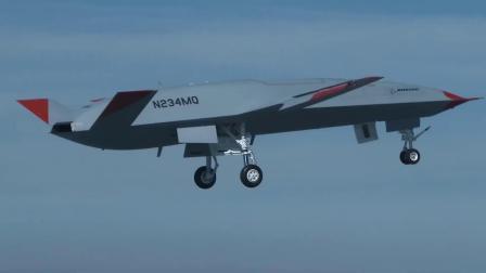 波音MQ-25舰载无人加油机完成首飞