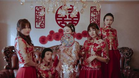 草莓智造作品——丹东东港国宴大酒店婚礼same day