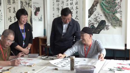 天津市人民政府教育督导室到西青区老年大学检查指导工作
