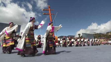 20191022_德钦县香格里拉梅里雪山弦子节开幕式羊拉乡歌舞《踏雪姑娘》