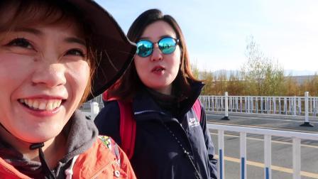 """2019/10二""""刷""""西部游vlog/青海湖/胡杨林/腾格里沙漠/镇北堡影视城"""
