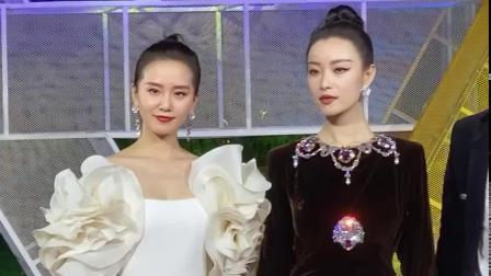 刘诗诗 倪妮 亮相金鸡红毯。