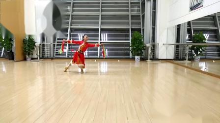 舞蹈 爱在草原    完整版(学跳李晋雪老师创编的蒙古舞)
