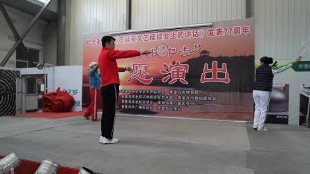 华柔教练周伟龙在秦皇岛市培训 (点赞中国)