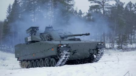 BAE系统公司CV90步兵战车测试拉斐尔长钉反坦克导弹