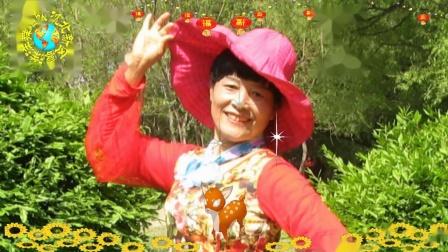 沈北新区喜洋洋广场舞《回家就是年》表演:喜洋洋特技1080p