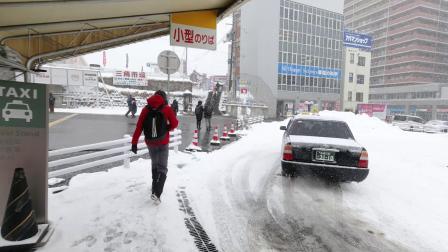 南方人无法承受的雪量 暴雪的北海道——北海道沙雕治愈VLOG|BMPCC |NIKON Z6