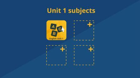 Plan You Semester 1 Units (Intensive)