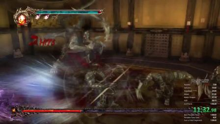 忍者龙剑传2 最速通关 1小时53分35秒