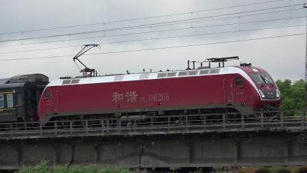 【2020.03.28】[沪昆线浙赣段][临浦特大桥北端] K423次 HXD1D0266